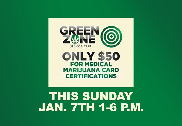 Green Zone Medical Marijuana Certification Event