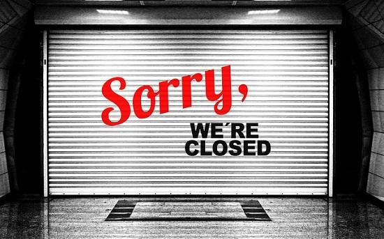 Rogue Dispensaries Closed